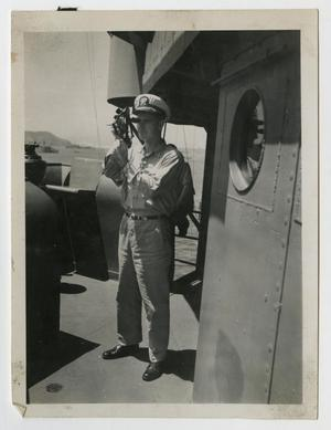 Primary view of object titled '[Photograph of Lieutenant Kline]'.