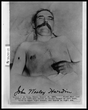 Primary view of object titled 'Portrait of Dead Man'.