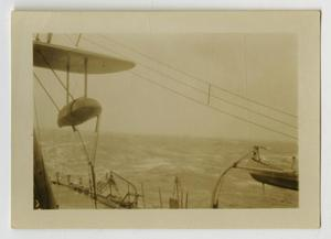 Primary view of object titled '[Photograph of Ocean from U.S.S. Texas]'.