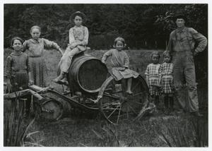 Primary view of object titled '[Arlander Bedford Courtney and his Children]'.