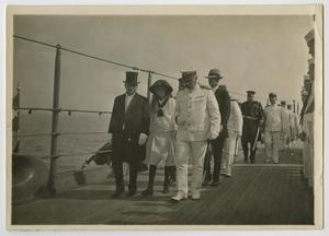 Primary view of object titled '[Photograph of Cecil and Claudia Lyon]'.