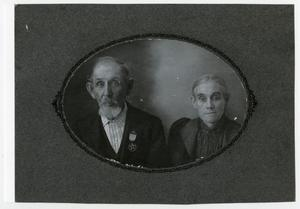 Primary view of object titled '[Photograph of Andrew and Narcissus Maxwell]'.