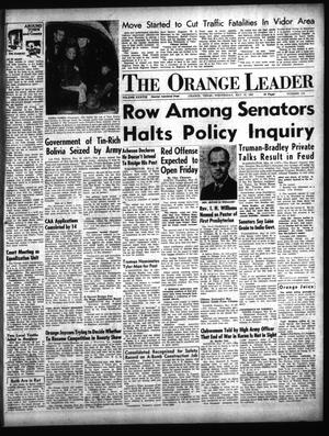 Primary view of object titled 'The Orange Leader (Orange, Tex.), Vol. 38, No. 115, Ed. 1 Wednesday, May 16, 1951'.