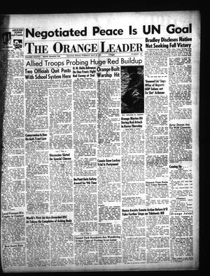 Primary view of object titled 'The Orange Leader (Orange, Tex.), Vol. 38, No. 120, Ed. 1 Tuesday, May 22, 1951'.