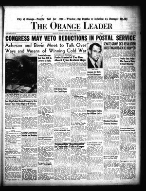 Primary view of object titled 'The Orange Leader (Orange, Tex.), Vol. 37, No. 110, Ed. 1 Tuesday, May 9, 1950'.