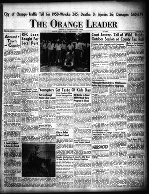 Primary view of object titled 'The Orange Leader (Orange, Tex.), Vol. 37, No. 230, Ed. 1 Sunday, September 17, 1950'.
