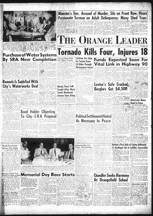 Primary view of object titled 'The Orange Leader (Orange, Tex.), Vol. 52, No. 131, Ed. 1 Monday, May 31, 1954'.