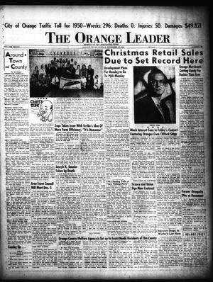 Primary view of object titled 'The Orange Leader (Orange, Tex.), Vol. 37, No. 289, Ed. 1 Sunday, November 26, 1950'.