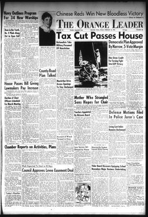Primary view of The Orange Leader (Orange, Tex.), Vol. 52, No. 48, Ed. 1 Friday, February 25, 1955
