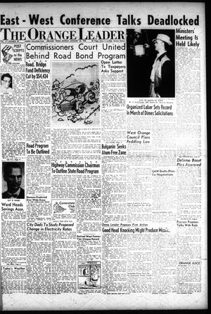 Primary view of object titled 'The Orange Leader (Orange, Tex.), Vol. 55, No. 10, Ed. 1 Sunday, January 12, 1958'.