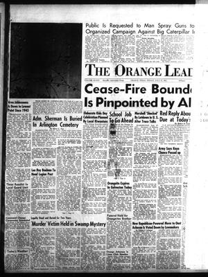 Primary view of object titled 'The Orange Leader (Orange, Tex.), Vol. 48, No. 177, Ed. 1 Friday, July 27, 1951'.