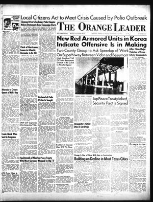 Primary view of object titled 'The Orange Leader (Orange, Tex.), Vol. 48, No. 213, Ed. 1 Sunday, September 9, 1951'.