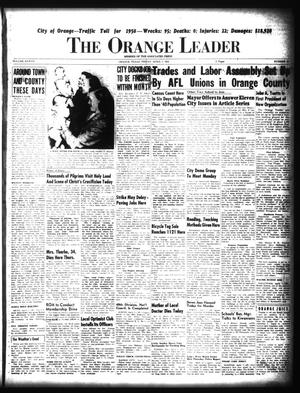 Primary view of object titled 'The Orange Leader (Orange, Tex.), Vol. 37, No. 83, Ed. 1 Friday, April 7, 1950'.