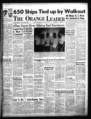 Primary view of object titled 'The Orange Leader (Orange, Tex.), Vol. 38, No. 142, Ed. 1 Sunday, June 17, 1951'.