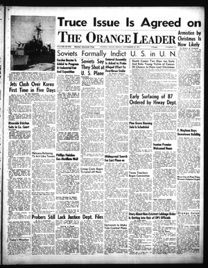 Primary view of object titled 'The Orange Leader (Orange, Tex.), Vol. 48, No. 278, Ed. 1 Friday, November 23, 1951'.