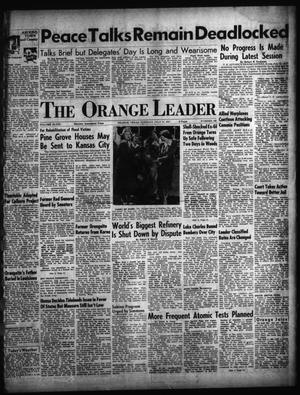Primary view of object titled 'The Orange Leader (Orange, Tex.), Vol. 48, No. 180, Ed. 1 Tuesday, July 31, 1951'.