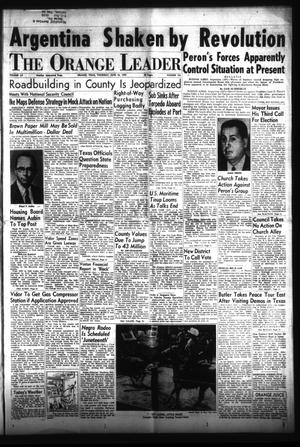 Primary view of The Orange Leader (Orange, Tex.), Vol. 52, No. 143, Ed. 1 Thursday, June 16, 1955