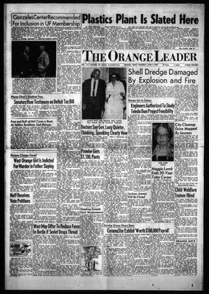 Primary view of object titled 'The Orange Leader (Orange, Tex.), Vol. 56, No. 135, Ed. 1 Thursday, June 4, 1959'.