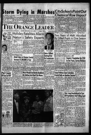 Primary view of object titled 'The Orange Leader (Orange, Tex.), Vol. 56, No. 131, Ed. 1 Sunday, May 31, 1959'.
