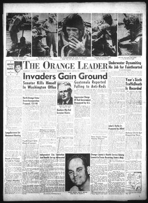 Primary view of object titled 'The Orange Leader (Orange, Tex.), Vol. 52, No. 147, Ed. 1 Sunday, June 20, 1954'.