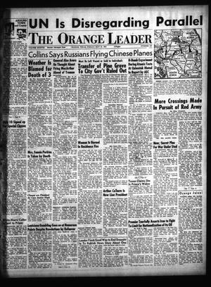 Primary view of object titled 'The Orange Leader (Orange, Tex.), Vol. 38, No. 123, Ed. 1 Friday, May 25, 1951'.