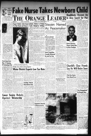 Primary view of The Orange Leader (Orange, Tex.), Vol. 52, No. 67, Ed. 1 Sunday, March 20, 1955