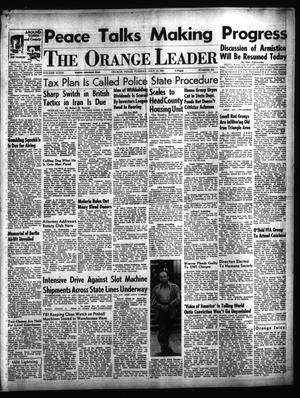 Primary view of object titled 'The Orange Leader (Orange, Tex.), Vol. 48, No. 162, Ed. 1 Tuesday, July 10, 1951'.