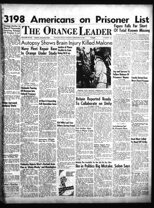 Primary view of object titled 'The Orange Leader (Orange, Tex.), Vol. 48, No. 299, Ed. 1 Tuesday, December 18, 1951'.