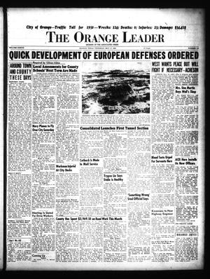 Primary view of object titled 'The Orange Leader (Orange, Tex.), Vol. 37, No. 119, Ed. 1 Thursday, May 18, 1950'.