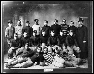 Primary view of object titled 'HSU Football Team'.