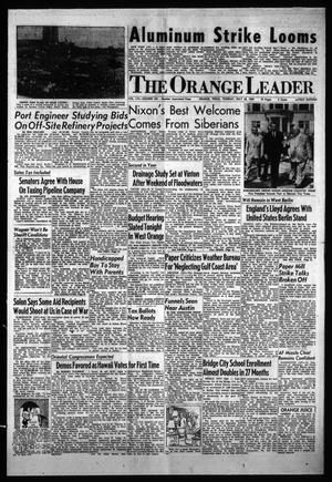 Primary view of object titled 'The Orange Leader (Orange, Tex.), Vol. 56, No. 181, Ed. 1 Tuesday, July 28, 1959'.