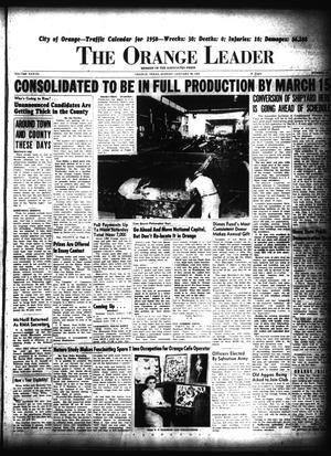 Primary view of The Orange Leader (Orange, Tex.), Vol. 37, No. 24, Ed. 1 Sunday, January 29, 1950