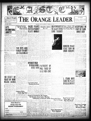 Primary view of object titled 'The Orange Leader (Orange, Tex.), Vol. 27, No. 71, Ed. 1 Sunday, March 24, 1940'.