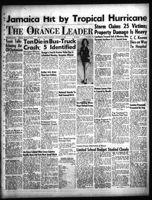 Primary view of object titled 'The Orange Leader (Orange, Tex.), Vol. 48, No. 196, Ed. 1 Sunday, August 19, 1951'.