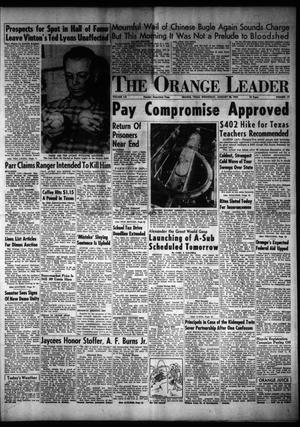 Primary view of object titled 'The Orange Leader (Orange, Tex.), Vol. 52, No. 17, Ed. 1 Wednesday, January 20, 1954'.