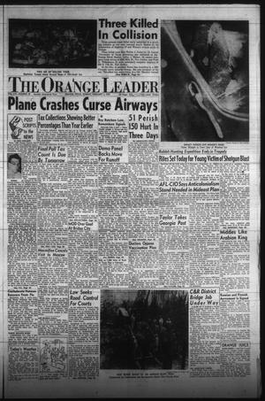 Primary view of object titled 'The Orange Leader (Orange, Tex.), Vol. 54, No. 29, Ed. 1 Sunday, February 3, 1957'.