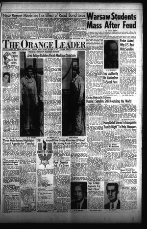 Primary view of object titled 'The Orange Leader (Orange, Tex.), Vol. 54, No. 231, Ed. 1 Sunday, October 6, 1957'.