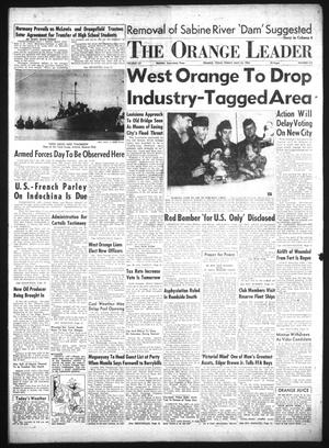 Primary view of object titled 'The Orange Leader (Orange, Tex.), Vol. 52, No. 117, Ed. 1 Friday, May 14, 1954'.