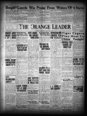 Primary view of object titled 'The Orange Leader (Orange, Tex.), Vol. 27, No. 4, Ed. 1 Friday, January 5, 1940'.