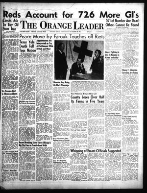 Primary view of object titled 'The Orange Leader (Orange, Tex.), Vol. 48, No. 305, Ed. 1 Wednesday, December 26, 1951'.