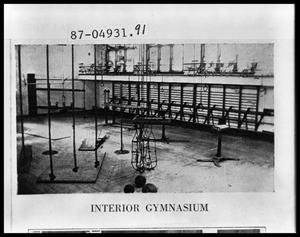 Primary view of object titled 'Gymnasium Interior'.