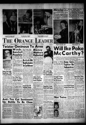 Primary view of object titled 'The Orange Leader (Orange, Tex.), Vol. 52, No. 69, Ed. 1 Tuesday, March 23, 1954'.