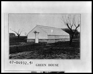 Primary view of object titled 'Greenhouse'.