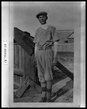 Primary view of object titled 'Faculty Baseball Team Member'.
