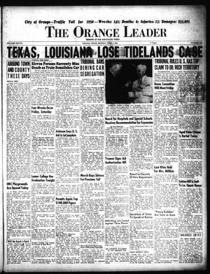 Primary view of The Orange Leader (Orange, Tex.), Vol. 37, No. 134, Ed. 1 Monday, June 5, 1950