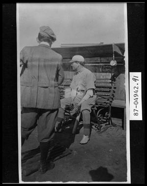 Primary view of object titled 'Faculty Baseball Game'.