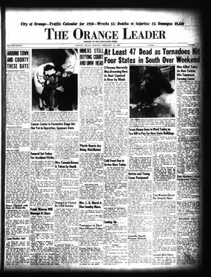 Primary view of object titled 'The Orange Leader (Orange, Tex.), Vol. 37, No. 37, Ed. 1 Monday, February 13, 1950'.