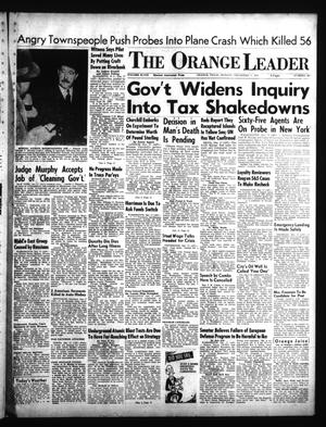 Primary view of object titled 'The Orange Leader (Orange, Tex.), Vol. 48, No. 298, Ed. 1 Monday, December 17, 1951'.