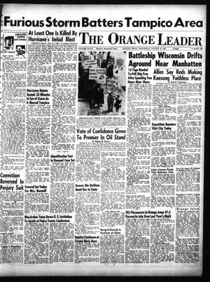 Primary view of object titled 'The Orange Leader (Orange, Tex.), Vol. 48, No. 199, Ed. 1 Wednesday, August 22, 1951'.
