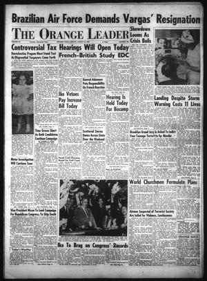 Primary view of object titled 'The Orange Leader (Orange, Tex.), Vol. 52, No. 202, Ed. 1 Monday, August 23, 1954'.
